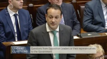Varadkar 'happy to correct' Dáil record if comments on Fitzgerald misleading