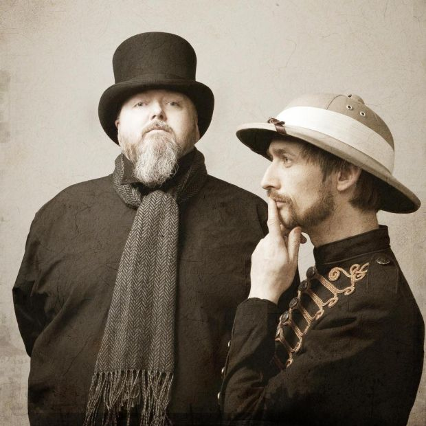 Thomas Walsh and Neil Hannon aka The Duckworth Lewis Method