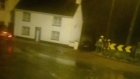 Eyewitness footage captures severe flooding in Mountmellick
