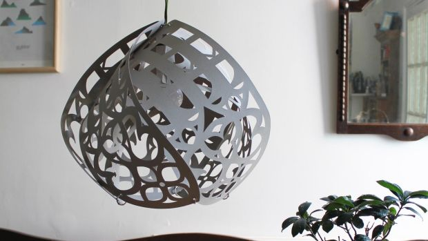 The Cathedral light shade (€40) by designer Renata Pekowska.