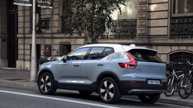 New Volvo Xc40 Crossover Aims To Be Funky But Is Really More Chunky