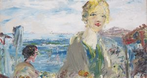 By Merrion Strand by Jack B Yeats.