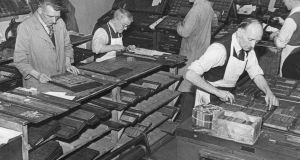 The skill of printing and the people who possessed it, are largely gone now. Photograph: Jewish Chronicle/Heritage Images/Getty Images