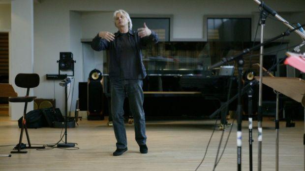Manfred Eicher in the recording studio. File photograph: Colin Eick/ECM Records