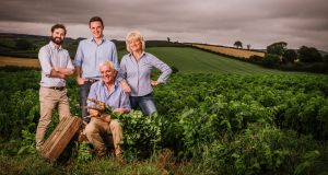 The Hamilton family, founders of the Mash Direct brand. As of last year the company sold into 5,000 stores across Ireland, England and Scotland.