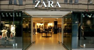 The Zara Store in the New South King Street Shopping complex in Dublin.