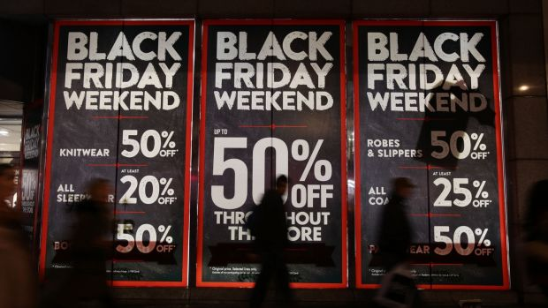 Black Friday. Photo credit should read: Yui Mok/PA Wire