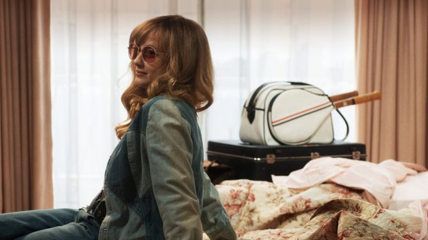 Andrea Riseborough as Marilyn Barnett in the film Battle of the Sexes. Photograph: Melinda Sue Gordon/Twentieth Century Fox Film Corporation