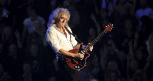 Brian May of Queen  at the Odyssey Arena  in Belfast in 2011. Photograph: Ian Gavan/Getty Images