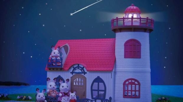 The newest addition to the range of Sylvanian Families is the Starry Point lighthouse, available from French-based online store Smallable and at some branches of Argos.