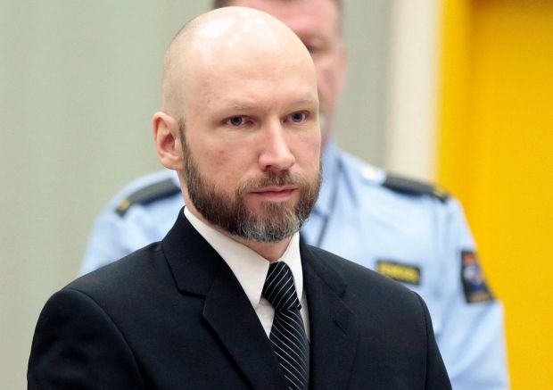 Anders Behring Breivik - known as Fjotolf Hansen from 2017 - killed 77 people in a terrorist attack in 2011.