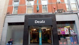 The Dealz store on Dublin's  Henry Street: the chain plans to put Pep&Co clothing outlets into its larger stores in Ireland. Photograph: Eric Luke