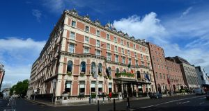 The Shelbourne Hotel: turnover at the 265-room property rose 12 per cent to €39.7 million. Photograph: Dara Mac Donaill