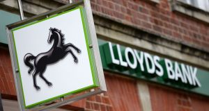 At the end of December 2016, 27.8 per cent of the Lloyds Irish loans were in negative equity. Photograph: Andrew Matthews/PA Wire