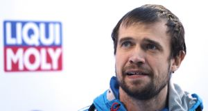Alexander Tretiakov: 2014 Olympic champion has been banned from all future Games. Photograph:  Alexander Hassenstein/Getty Images