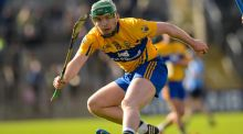 Clare's Aron Shanagher. Photograph: Tom Beary/Inpho