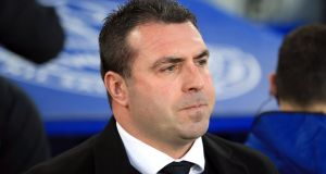 Everton caretaker manager David Unsworth has demanded his under-performing players prove their commitment to the cause after the club's heaviest European defeat at Goodison Park. Photograph: Peter Byrne/PA