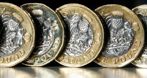 Analysts say sterling is nearing key technical levels. Photograph: Getty