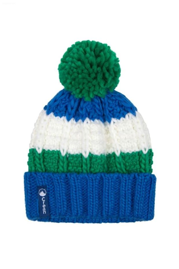 Crean Ocean Green Bobble Hat, €19.99