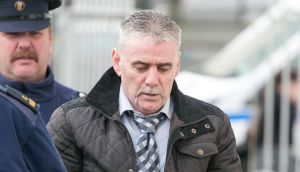 Patrick Roche arriving at Limerick Circuit Court. Photograph: Press 22.