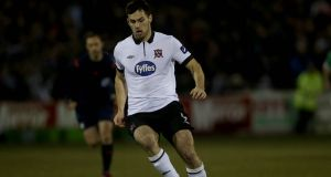 Dundalk have re-signed Patrick Hoban for the upcoming League of Ireland season. Photo: Donall Farmer/Inpho