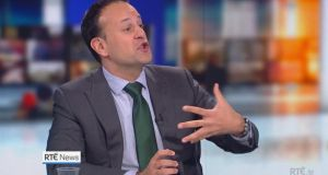 Taoiseach Leo Varadkar on RTÉ's Six One News on Friday