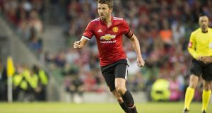 "Manchester United's Michael Carrick has been suffering with an ""irregular heart rhythm."" Photo: Andrew Surma/NurPhoto via Getty Images"