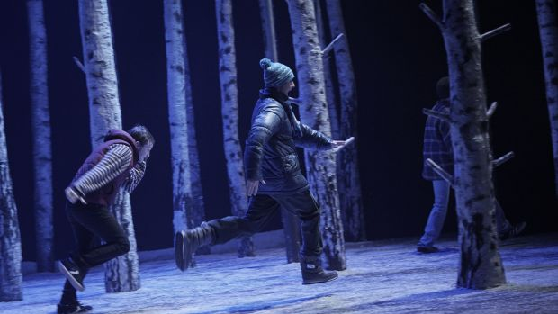 'Let the Right One In' at the Abbey Theatre. Photograph: Ros Kavanagh
