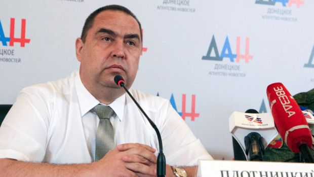 "Igor Plotnitsky: flew to Russia and resigned ""for health reasons"". Photograph: EPA"