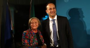 "Tánaiste Frances Fitzgerald and Taoiseach Leo Varadkar: ""Leo is not looking at this through the usual political lens,"" said a senior Fine Gael politician. Photograph: Colin Keegan/Collins"