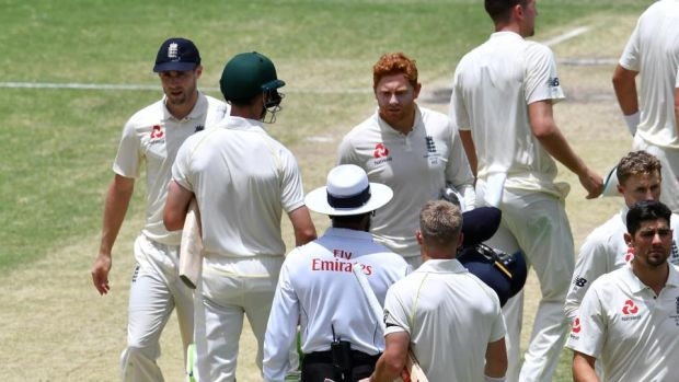 European Central Bank  investigate alleged Jonny Bairstow 'headbutt' of Cameron Bancroft ahead of Ashes