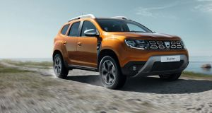 The next generation Dacia Duster, due in Ireland  next year
