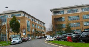 Two office buildings at Arena Road in Sandyford, Co Dublin