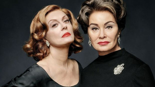 Susan Sarandon and Jessica Lange in Feud (2017)Copyright 2017, FX Networks. All rights reserved.