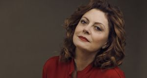 "Susan Sarandon, who plays Bette Davis in the new FX miniseries ""Feud: Bette & Joan"" Photograph: Ryan Pfluger/The New York Times"