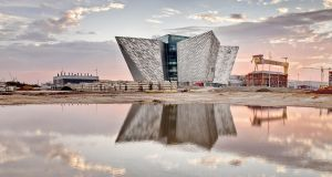 Titanic Belfast is an award-winning tourist attraction. Photograph: Titanic Belfast/PA Wire