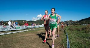 Fionnuala McCormack during the 2016 European Cross Country Championships in Italy. Photo: Sasa Pahic Szabo/Inpho