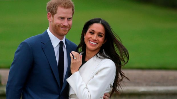 Prince Harry and fiancée Meghan Markle: Photograph: Daniel leal-Olivas/AFP/Getty Images
