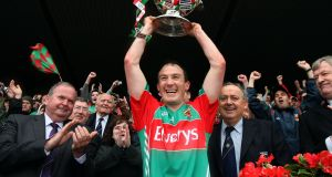Alan Dillon captained Mayo to the Connacht title in 2011. Photograph: Cathal Noonan/Inpho