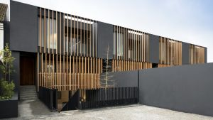 These properties – perched behind high Iroko electric gates – look like modest-sized mews similar to their peers along the lane, but nothing could be further from the truth.