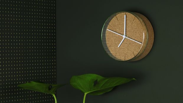 The Capsule wall clock (€160)