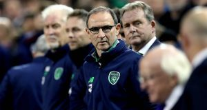 Ireland manager Martin O'Neill at one stage became the bookies' favourite to take the Everton job. Photo: Ryan Byrne/Inpho