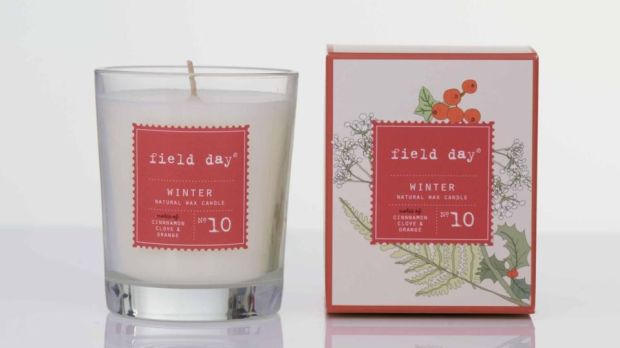 Field Day Winter candle (€17.95 plus delivery from fielddayireland.ie)