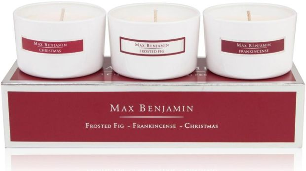 Max Benjamin Christmas Favourites gift set (€35 plus delivery from Brown Thomas)