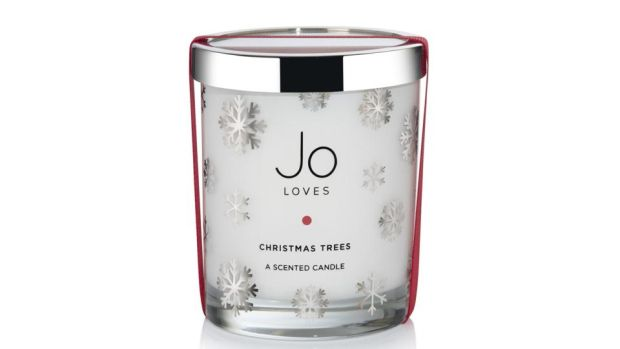 Jo Loves Christmas Trees candle (£55 plus delivery from joloves.com)