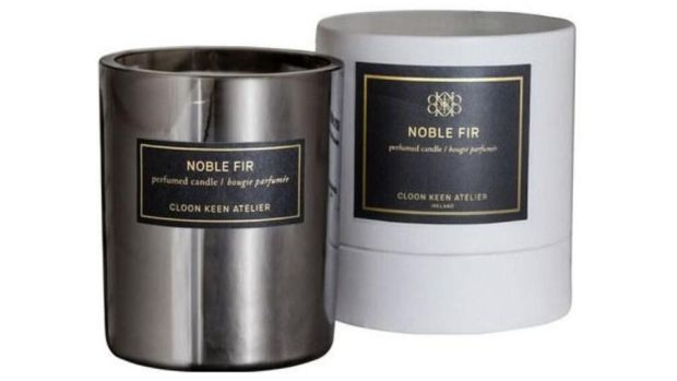 Cloon Keen Atelier Noble Fir candle (€40 plus delivery from brownthomas.com)