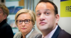 The resignation of Tánaiste Frances Fitzgerald takes a pre-Christmas election off the table, but it also sets the clock ticking on the Government's lifespan and raises serious questions for the Department of Justice and Taoiseach Leo Varadkar. Photograph: Gareth Chaney/Collins