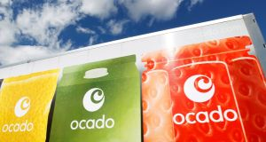 Ocado was among the best performers in London, surging over 20 per cent after it announced a long-awaited international partnership, signing a deal with French supermarket giant Groupe Casino.