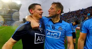 Band of Brothers: Stephen Cluxton and Paul Flynn.