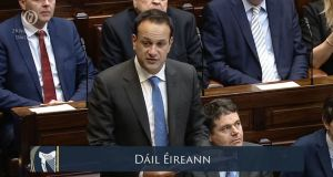 Taoiseach Leo Varadkar faced criticism in the Dáil about the Government's strategic communications unit. Photograph: PA.
